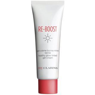 My Clarins Re-Boost Healthy Glow Tinted Gel-Cream aktivní intenzivně hydratační gel-krém pro okamžité rozjasnění 50 ml dámské 50 ml