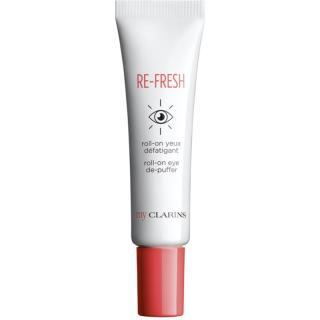 My Clarins Re-Fresh Roll-On Eye De-Puffer gel na oční okolí proti otokům a tmavým kruhům pro rozjasnění a hydrataci 15 ml dámské 15 ml