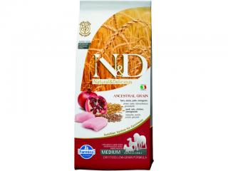 N&D Low Grain Adult Chicken & Pomegranate 12kg