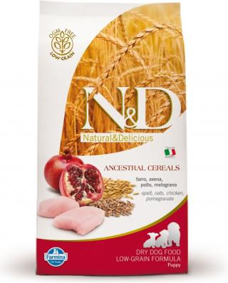 N&D Low Grain Puppy Chicken & Pomegranate 12kg