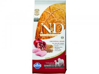 N&D Low Grain Senior Medium / Large Chicken & Pomegranate 12kg