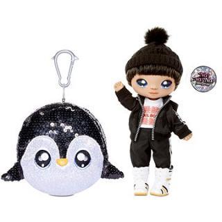Na! Na! Na! Surprise Panenka ve třpytkovém zvířátku 2v1 - Sparkle Penguin