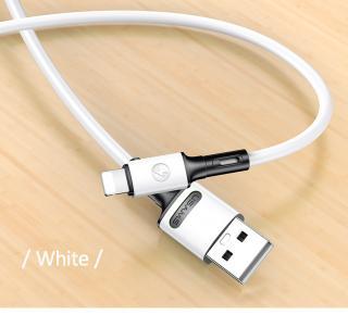 Nabíjecí a datový kabel USAMS SJ434 U52 Lightning 1m, bílá
