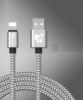 Nabíjecí USB kabel pro iPhone - 5 barev Barva: bílá, Typ: 25 cm