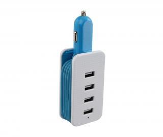 Nabíječka do auta USB Flien Blue