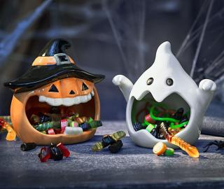 Nádoby na sladkosti halloween, sada 2 ks