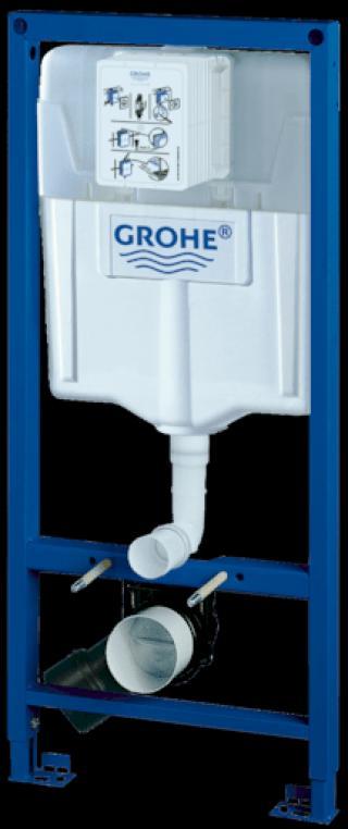 Nádržka do lehké stěny k WC Grohe Rapid SL 38528001