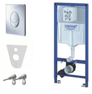Nádržka do lehké stěny k WC Grohe Rapid SL 38721001