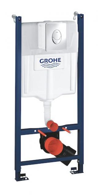 Nádržka do lehké stěny k WC Grohe Rapid SL 38745001