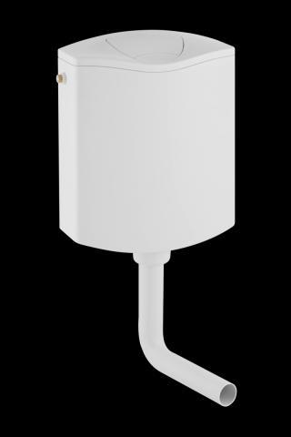 Nádržka na stěnu k WC Geberit AP 136.430.11.1 alpská bílá