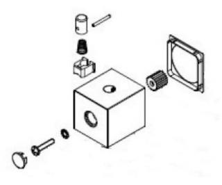 Náhradní rukojeť k termostatům Optima hr NDSIKOBSTRUKOJET6