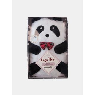 Nahřívací láhev panda Something Special bílá One size