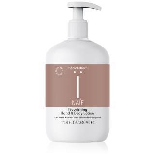 Naif Hand & Body mléko na ruce a tělo s vyživujícím účinkem 340 ml dámské 340 ml