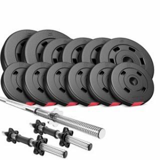 Nakládací činkový set Premium 38kg