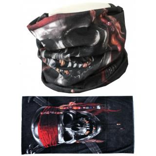 Nákrčník Mthdr Scarf Pirate Skull