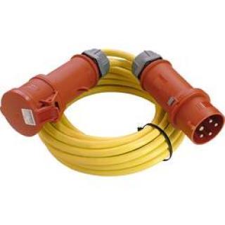 Napájecí prodlužovací kabel as - Schwabe 60712 60712, IP44, žlutá, 10.00 m