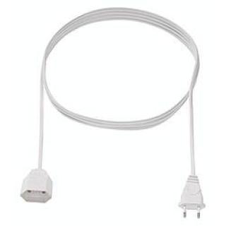 Napájecí prodlužovací kabel Bachmann 233.185 233.185, IP20, černá, 3.00 m