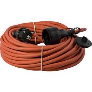 Napájecí prodlužovací kabel HAWA R6359 1008296, IP44, červená, 3.00 m