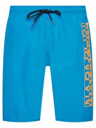 Napapijri Plavecké šortky Victor 1 NP0A4F9S Modrá Regular Fit pánské S