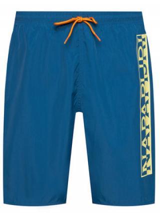 Napapijri Plavecké šortky Victor 1 NP0A4F9S Tmavomodrá Regular Fit pánské S