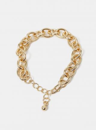 Náramek ve zlaté barvě Pieces Aliza dámské zlatá