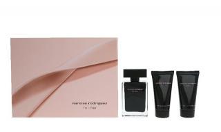 Narciso Rodriguez For Her - EDT 50 ml   tělové mléko 50 ml   sprchový gel 50 ml dámské