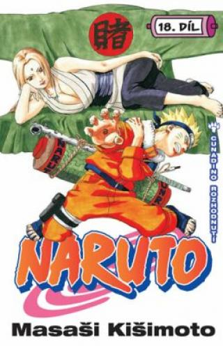 Naruto 18 Cunadino rozhodnutí - Masaši Kišimoto