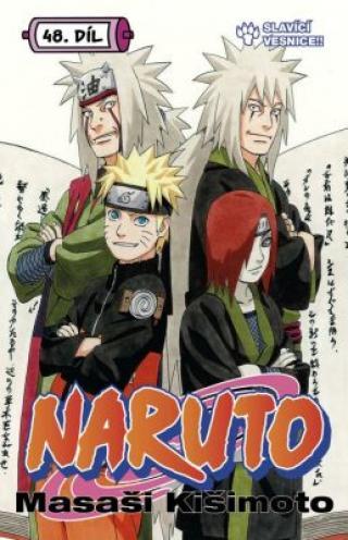 Naruto 48 - Slavící vesnice!! - Masaši Kišimoto