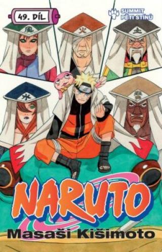 Naruto 49 Summit pěti stínů - Masaši Kišimoto