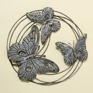 Nástěnná dekorace motýli