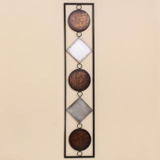 Nástěnná dekorace waka, 104 cm