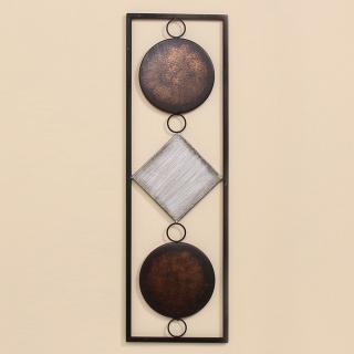 Nástěnná dekorace waka, 65 cm