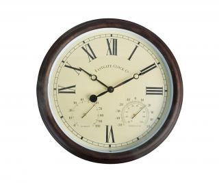 Nástěnné hodiny Roman Gate Hnědá