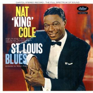Nat King Cole St. Louis Blues  Black