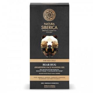 Natura Siberica Čisticí pleťový gel Men Bear Hug  150 ml pánské