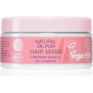 Natura Siberica Natural Oil-plex hloubkově regenerační maska pro barvené vlasy 300 ml dámské 300 ml