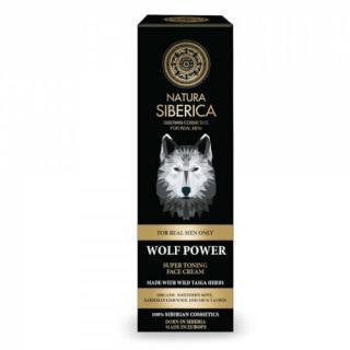 Natura Siberica Tonizující krém na obličej Men Wolf Power Super  50 ml pánské