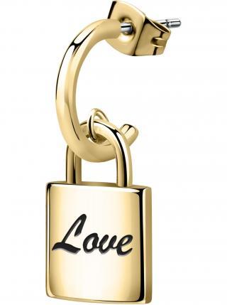 Náušnice na jedno ucho ve zlaté barvě La Petite Story dámské zlatá ONE SIZE