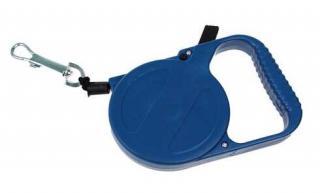 Navíjecí vodítko pro psy modré
