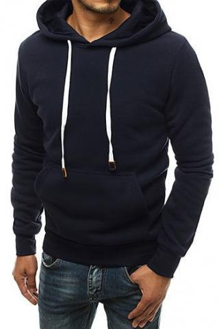 Navy blue mens hoodie BX4699 pánské Neurčeno M