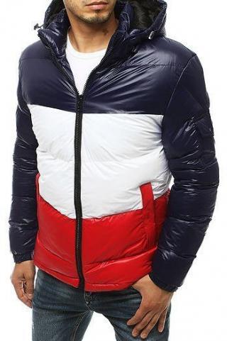 Navy blue mens quilted winter jacket TX3427 pánské Neurčeno S