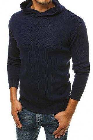 Navy blue mens sweater WX1464 pánské Neurčeno M