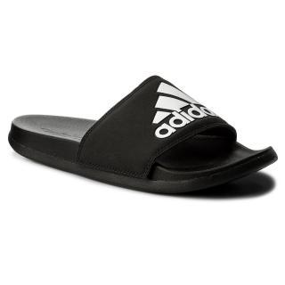 Nazouváky adidas - adilatte Cf  Logo CG3425 Cblack/Cblack/Ftwwht pánské Černá 39