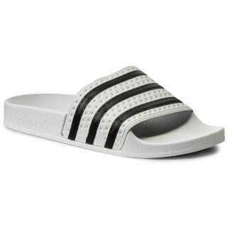 Nazouváky adidas - adilette 280648 White/None/White Bílá 37
