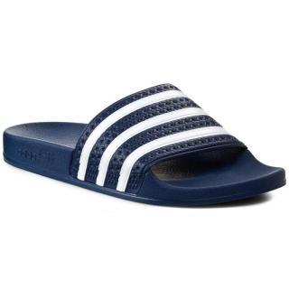 Nazouváky adidas - adilette 288022 Adiblu/Wht/Adiblu Tmavomodrá 39