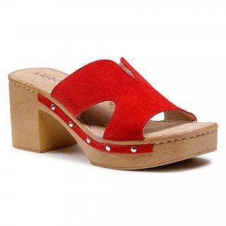 Nazouváky LASOCKI - S722 Red dámské Červená 36