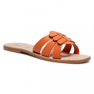 Nazouváky MANEBI - Sandals S 5.3 Y0 O Buckle Orange dámské Oranžová 35