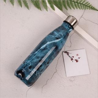 Nerezová cestovní lahev s motivem mramoru Varianta: 1
