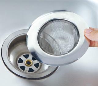 Nerezové sítko do umyvadel a sprchových koutů