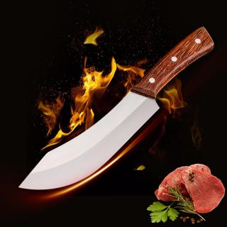 Nerezový řeznický nůž